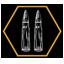 Double Tap achievement icon AW