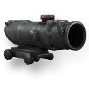 Weapon attachment acog