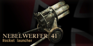Nebelwerfer 41 bonus CoD3