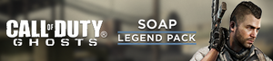 Soap Legend Pack DLC banner CoDG