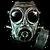 Gas Mask Emblem MW2