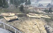 MW2 Abrams gracz druzynowy