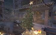 Leaning Christmas Tree Winter Crash CoD4