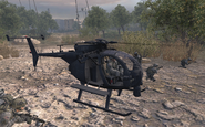 MH-6 Little Bird Team Player MW2