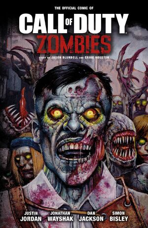 CoD Zombies Comic Cover