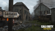 Carentan announcement WWII