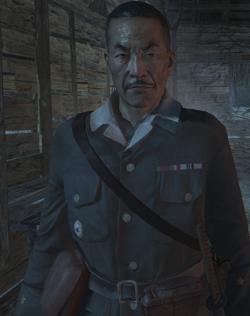 Japoński oficer