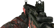 M4A1 Red Tiger MW2