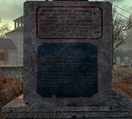 Wasteland Monument Text