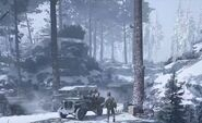 Call of Duty WW2 Battle of the Bulge Convoy