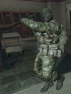 Garde Spetsnaz en mélée BO