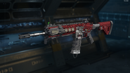 ICR-1 Gunsmith Model Red Hex Camouflage BO3