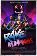 RaveInTheRedwoods Poster Zombies IW