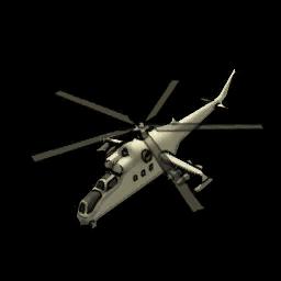 Smigłowiec szturmowy ikona menu mw3