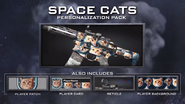 Space cats pack