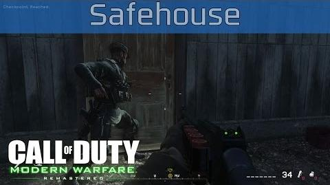 Call of Duty 4 Modern Warfare Remastered - Safehouse Walkthrough HD 1080P 60FPS