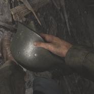Stahlhelm grab WWII