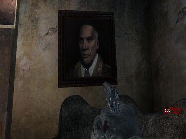 Portret Richtofena w Kino der Totenie