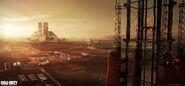 Mars Capital Concept Art by Benjamin Last IW