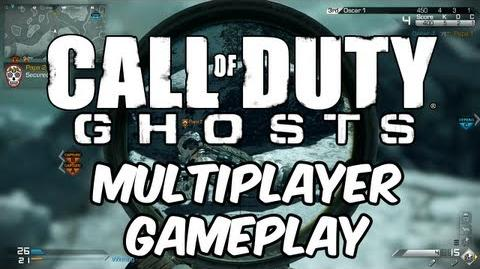 """CoD Ghosts """"Cranked Gameplay"""" (Nuke Odin Strike and Sniping)"""
