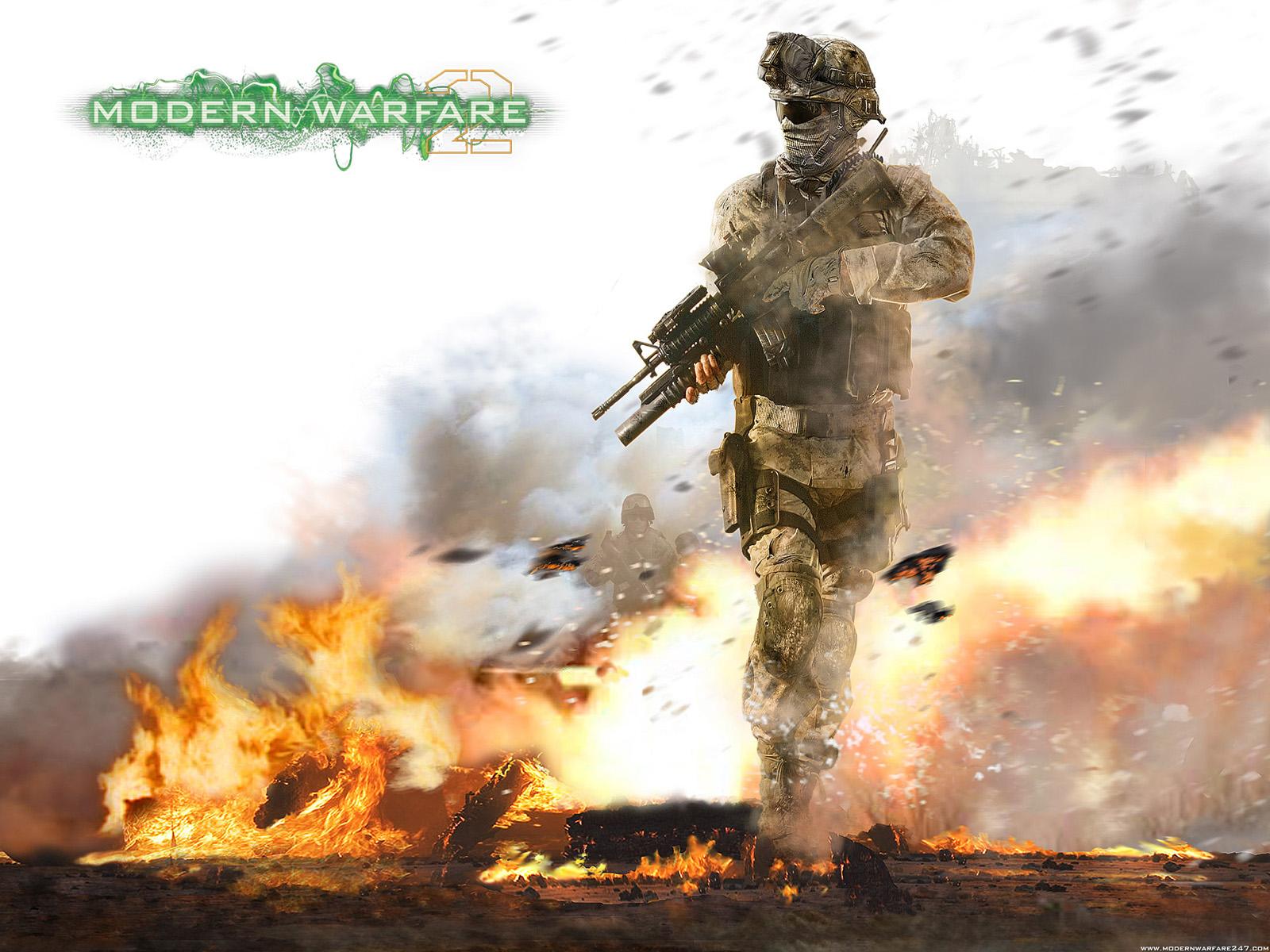 Modern Warfare 2 Wallpaper 6 1600