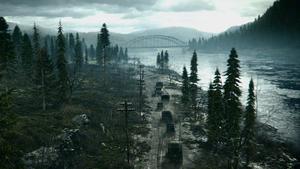 The Rhine bridge WWII