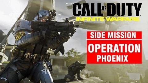 Call of Duty Infinite Warfare Side Mission - Operation PHOENIX Campaign Gameplay Walkthrough