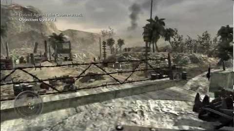 Call of Duty World at War - Campaign - Hard Landing