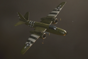 Carpet Bombing A-20 Havoc WWII