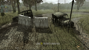 Cod mw MP Overgrown Destroyed Uaz 3151
