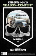 ELITE Poster Black Box MW3