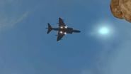 Harrier Strike hovering MW2