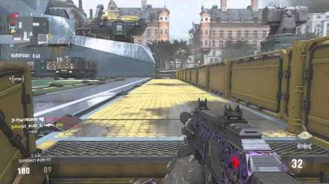 COD AW Multiplayer Gameplay (Parliament-Hardpoint)