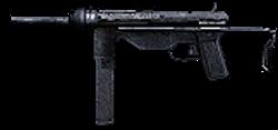 Grease Gun 3rd person CoD2