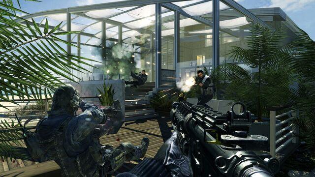 File:M4A1 Firefight Getaway MW3.jpg