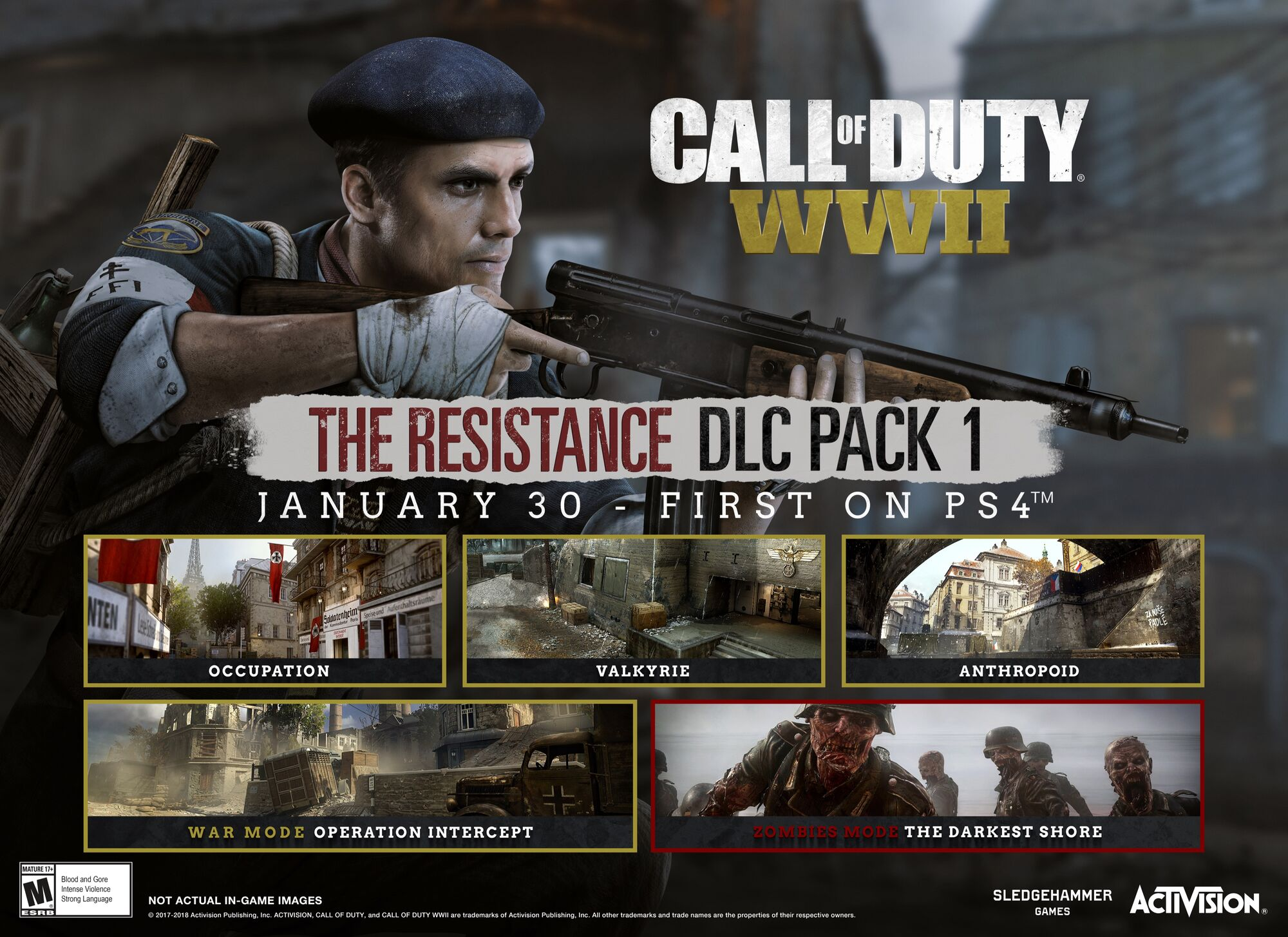 the resistance call of duty wiki fandom powered by wikia