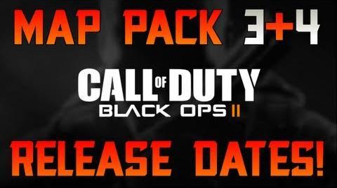 "Black Ops 2 Map Pack DLC 3 + 4 ""APOCALYPSE"" Release Dates! ""DLC4 Date"""