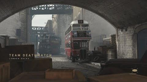 Call Of Duty WW2 London Docks Gameplay - London Docks TDM WWII Gameplay