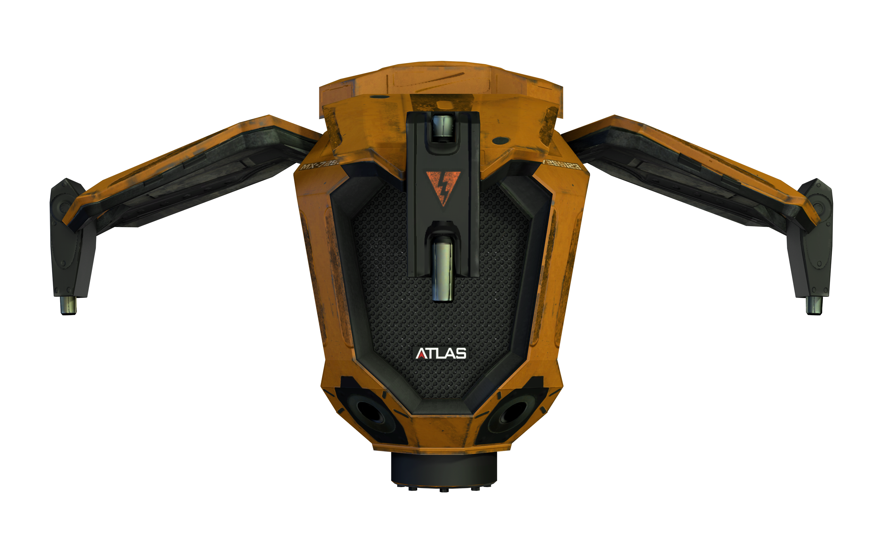 Distraction Drone Render AW