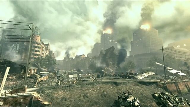 Hamburg beachfront under attack Goalpost MW3