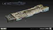 SDF Carrier early concept art by Simon Ko IW