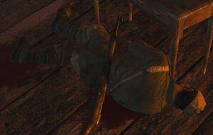 Раненый советский солдат 1 (Их земля, их кровь)