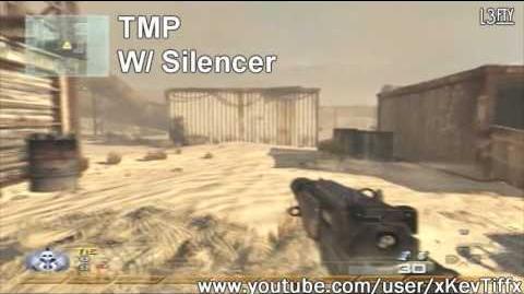 Call of Duty® Modern Warfare 2 - TMP Machine Pistol Attachments Guide (All Attachments)