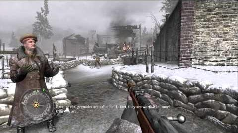 Call of Duty 2 Red Army Training Mission 1 HD