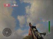 CoDFH Mosin Nagant in-game