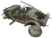 Kubelwagen destroyed CoD2
