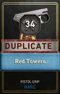 Old Duplicate Supply Drop Card WWII