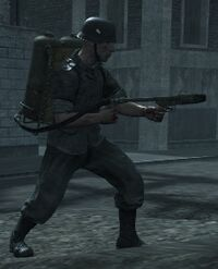 Немецкий огнемётчик 1 (Вендетта)
