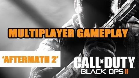 Black Ops 2 multiplayer gameplay - 'Aftermath' 2 @ Gamescom 2012