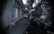 End of opposite hallways Crew Expendable CoD4